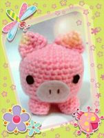 Little pink piggy by NVkatherine