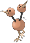 Doduo by dracolein