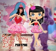 KatyPerry Doll Png by monxita244