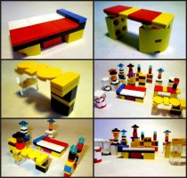 LEGO Furniture by Frohickey