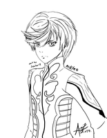 Drawing Challenge 01: MIKLEO The water seraph by sector19