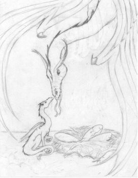 Dragon picture concept by Dragonblade99