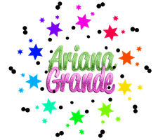 ariana grande texto png by luceroval