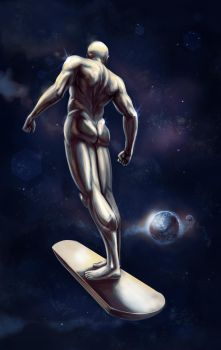 Silver Surfer by vitorzago