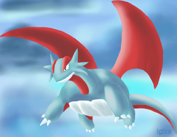 Salamence for EgiFuX 1 of 3 by igtica