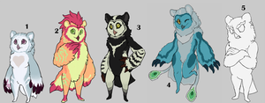 Taum Squad Auction Adoption! [Closed] by H-appysorry