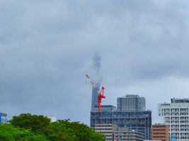Skytree in the Sky HDR by L-Spiro