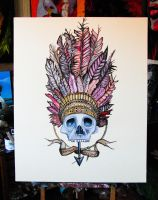Indian skull by NilleMusic