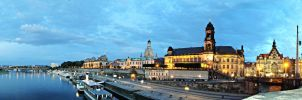 Dresden II - Florence on the Elbe by Lykorias