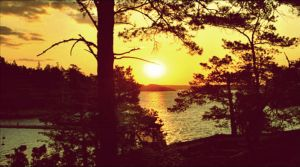 Summer Evening Colours In Archipelago July 2st by eskile