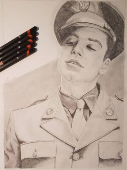 James Bucky Barnes by The-Curtis