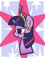 Pony Portraits: Princess Twilight Sparkle by LaurenBam