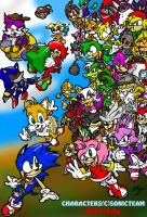 Wait up Sonic by ZoDy