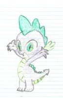 Spike the Dragon by doctornyan