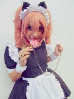 Karuta Roromiya (Maid) by HoneyCosplay