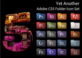 Yet Another Adobe CS5 Icon Set by MisterSpringtime