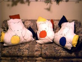 Three Pillows by th351