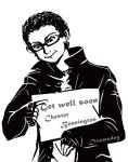 Get well soon Chester by doomaday