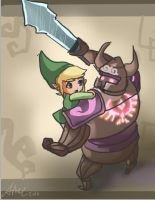 link and the phantom _1 by Arkel-chan