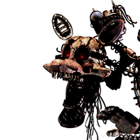 Five Nights at Freddy's [Old Mangle] by Christian2099