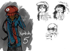 KND sketches by nuyorican14