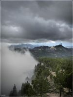 Cloudy 'Roque Nublo' by Kaslito