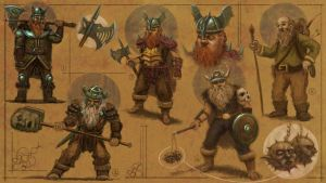 Dwarfs by guang2222