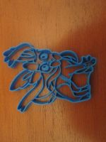 Sylveon Cookie Cutter 02 by B2Squared