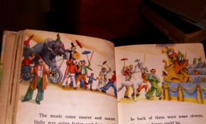 vintage children book set769 by impalabee