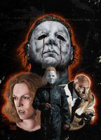HALLOWEEN II by MalevolentNate