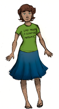 Non-Binary  New Zealand by ember960