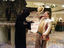 7th Doctor and Death by WinterRoseASFR
