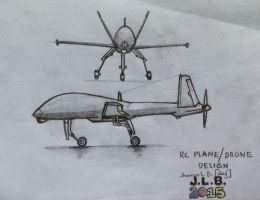 RC Plane/Drone Design by SammfeatBlueheart