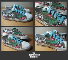 Customised Sneakers 15 by injuryordeath