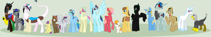 Next Gen My Little Pony by amazingphan24