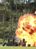 Fuel dump explosion by RedtailFox