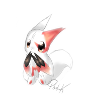 Chibi Zangoose by Phantom--Kitsune