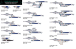 Star Fleet Dynamics, ship chart by jbobroony