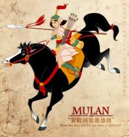 Mulan - Savior of China by madam-marla