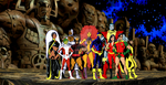The New Teen Titans and The Uncanny X-men by markdominic