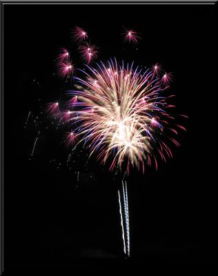Red White and Blue Firework IMG 8363 by WDWParksGal