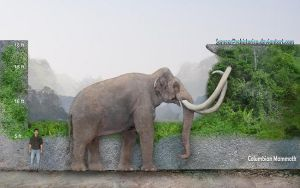 Columbian Mammoth by SameerPrehistorica
