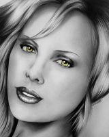 Charlize Theron by Diego-Designs
