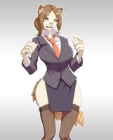 COM: Businessgirl2 by Materclaws