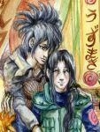 Itachi and Anko by jesterry