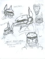 Amelia's Helmet Concept sheet by WMDiscovery93