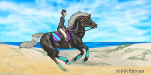Stardust beach ride by Hippie30199