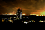 Mount Faber Park - Inferno in the Night Skies by yumithespotter