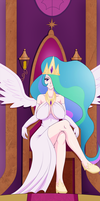 MLP - Human Princess Celestia by sketchbits