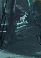 had a go at 30min Spitpaint lol  title White Moose by Takumer